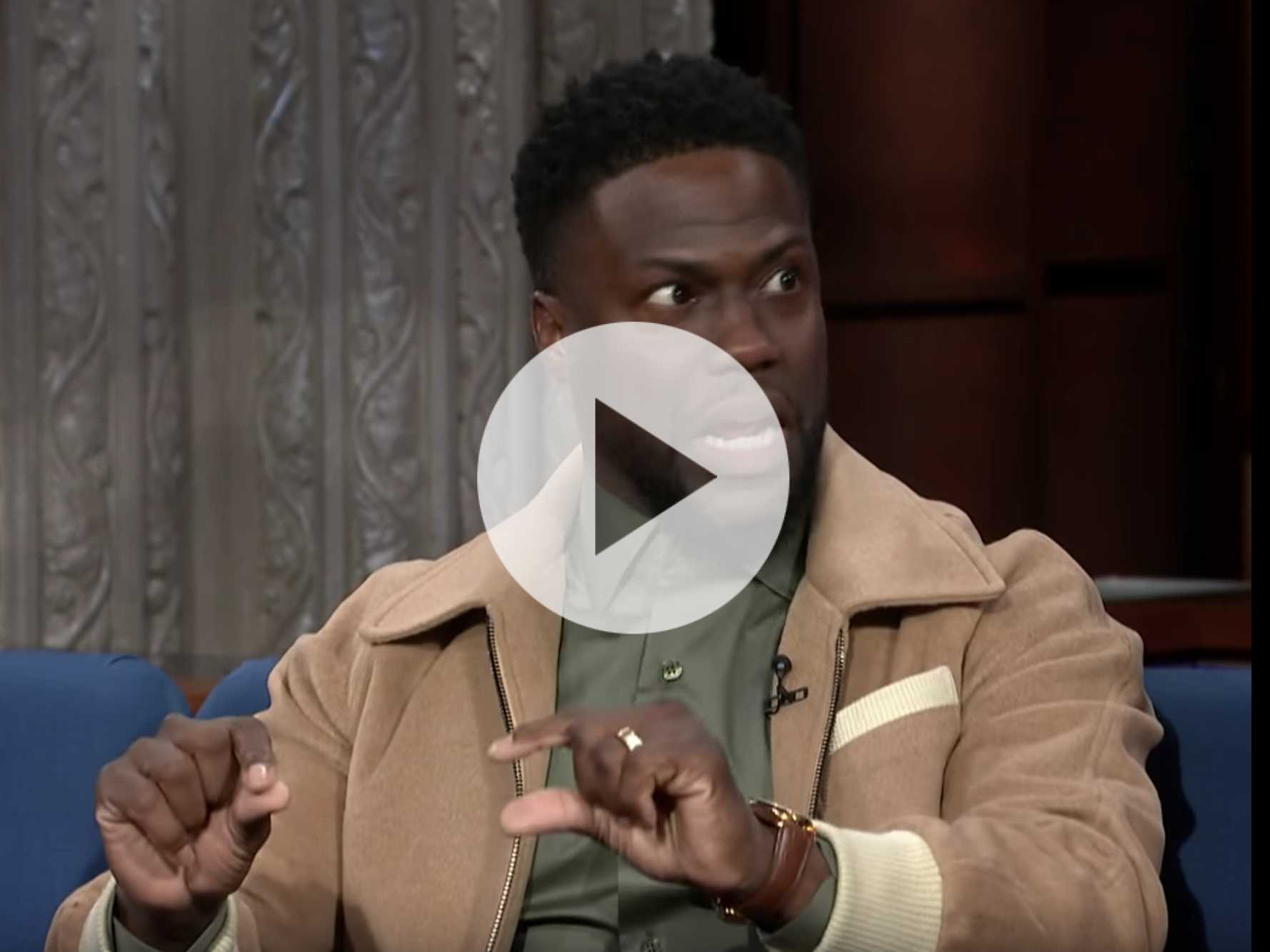 Watch: Kevin Hart Goes on 'Late Show,' Talks About How He Won't Talk About Anti-Gay Comments Anymore