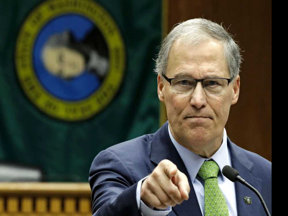 In Nevada, Inslee Tries to Pull 2020 Spotlight Away from DC