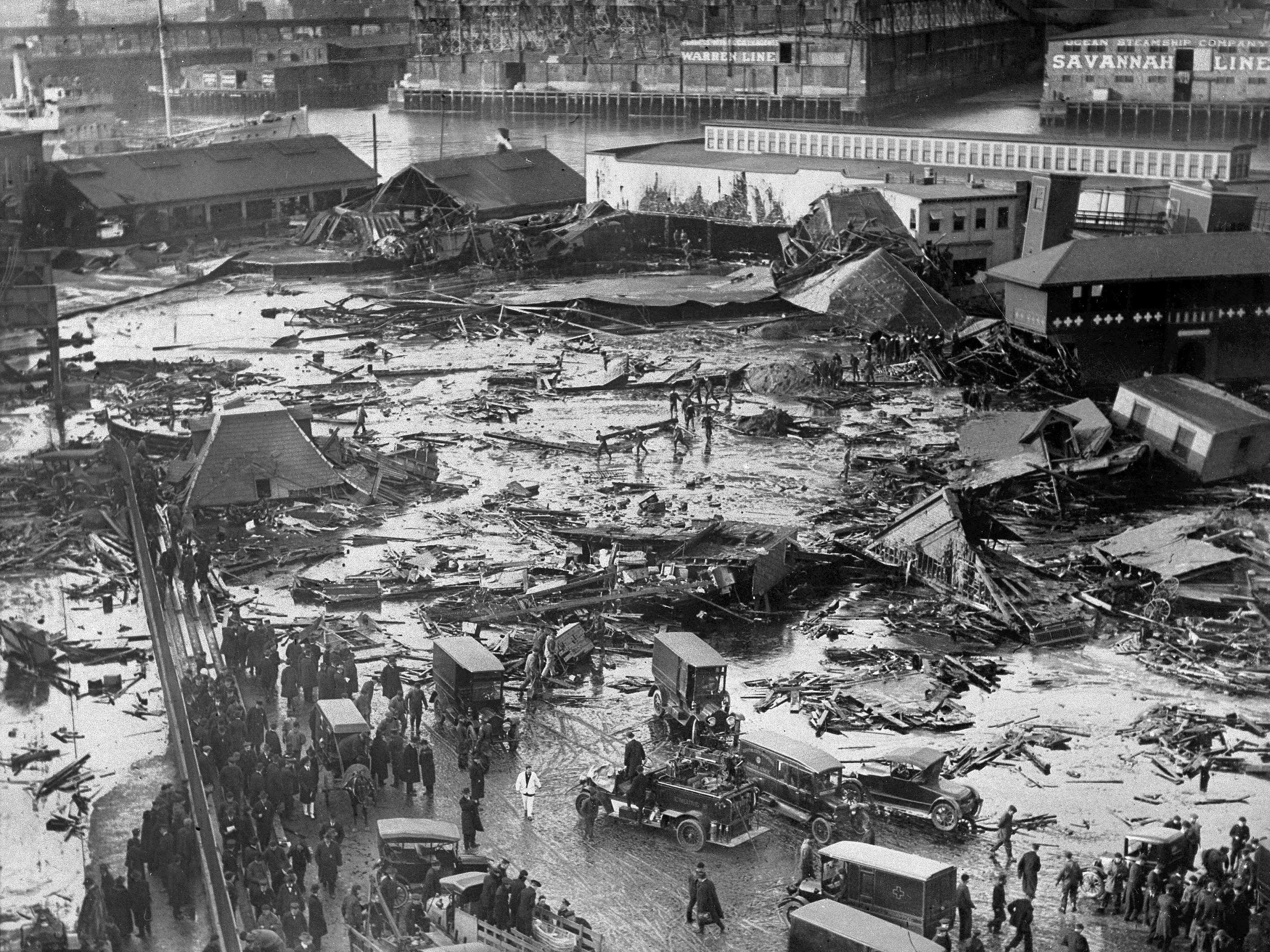 100 Years Ago in Boston: The Day Molasses Was Deadly Fast