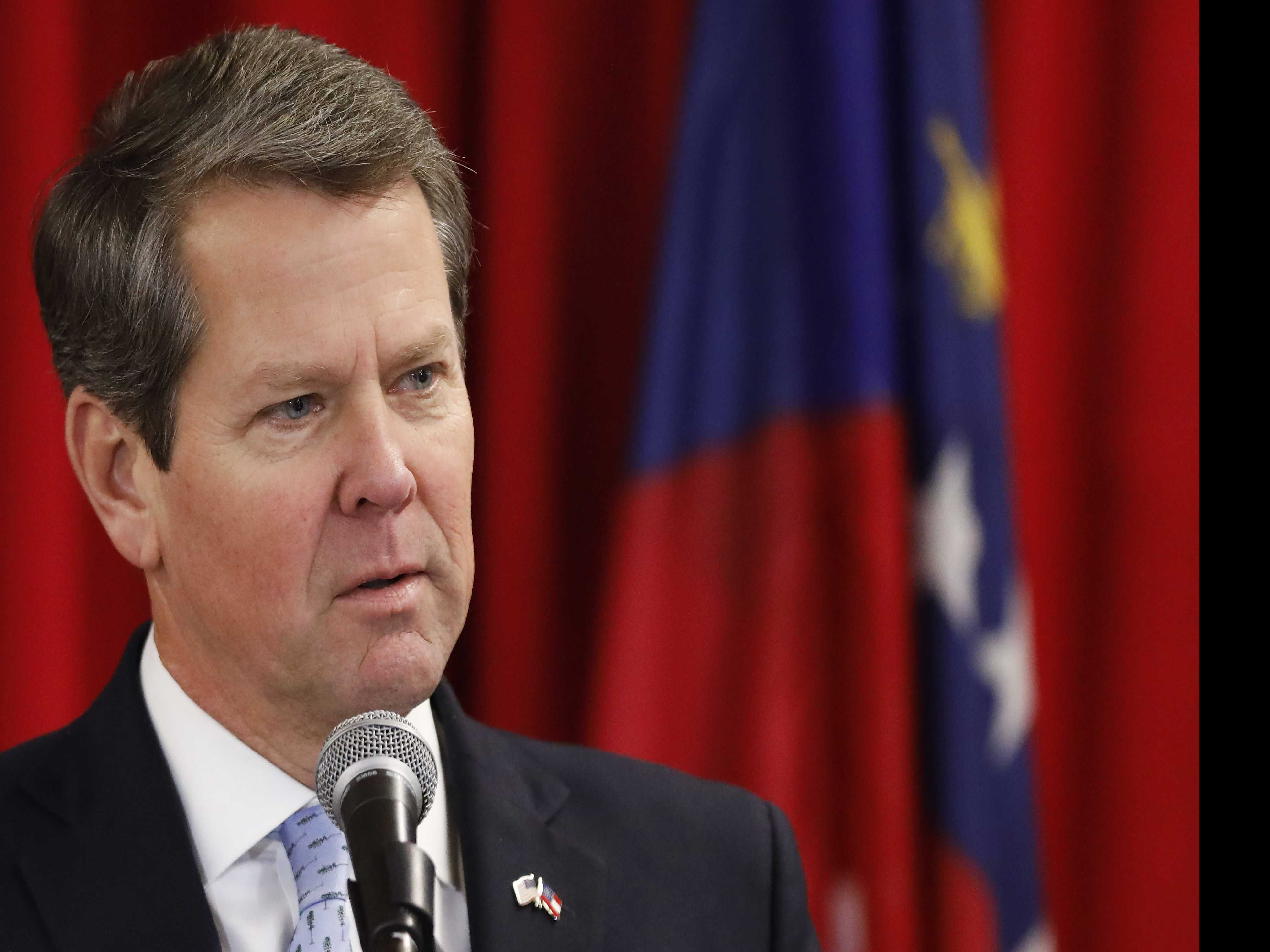 Governor Kemp Conciliatory in Georgia Inaugural Address