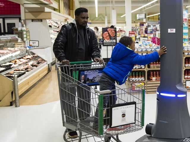 Grocery Robots Detect Spills - with Some Far-Off Human Help