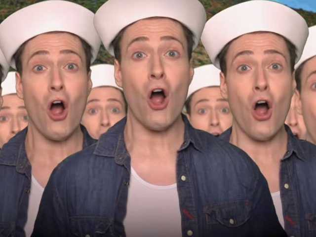 Watch: Randy Rainbow 'Hosts' Mike Pence in New Parody