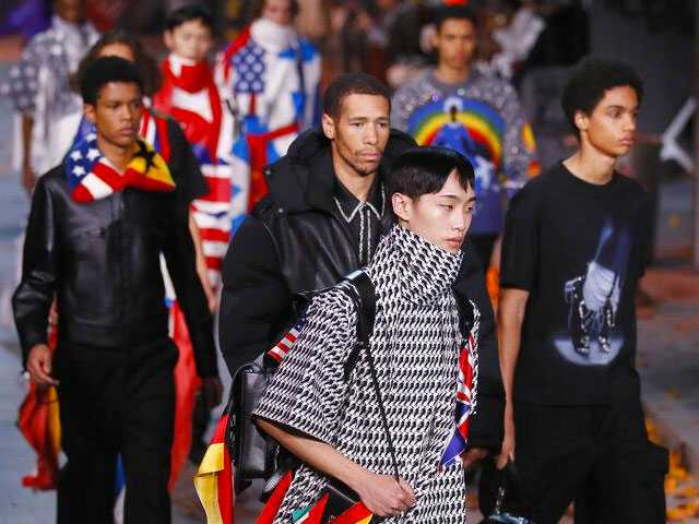 Louis Vuitton Celebrates Michael Jackson in Paris Menswear