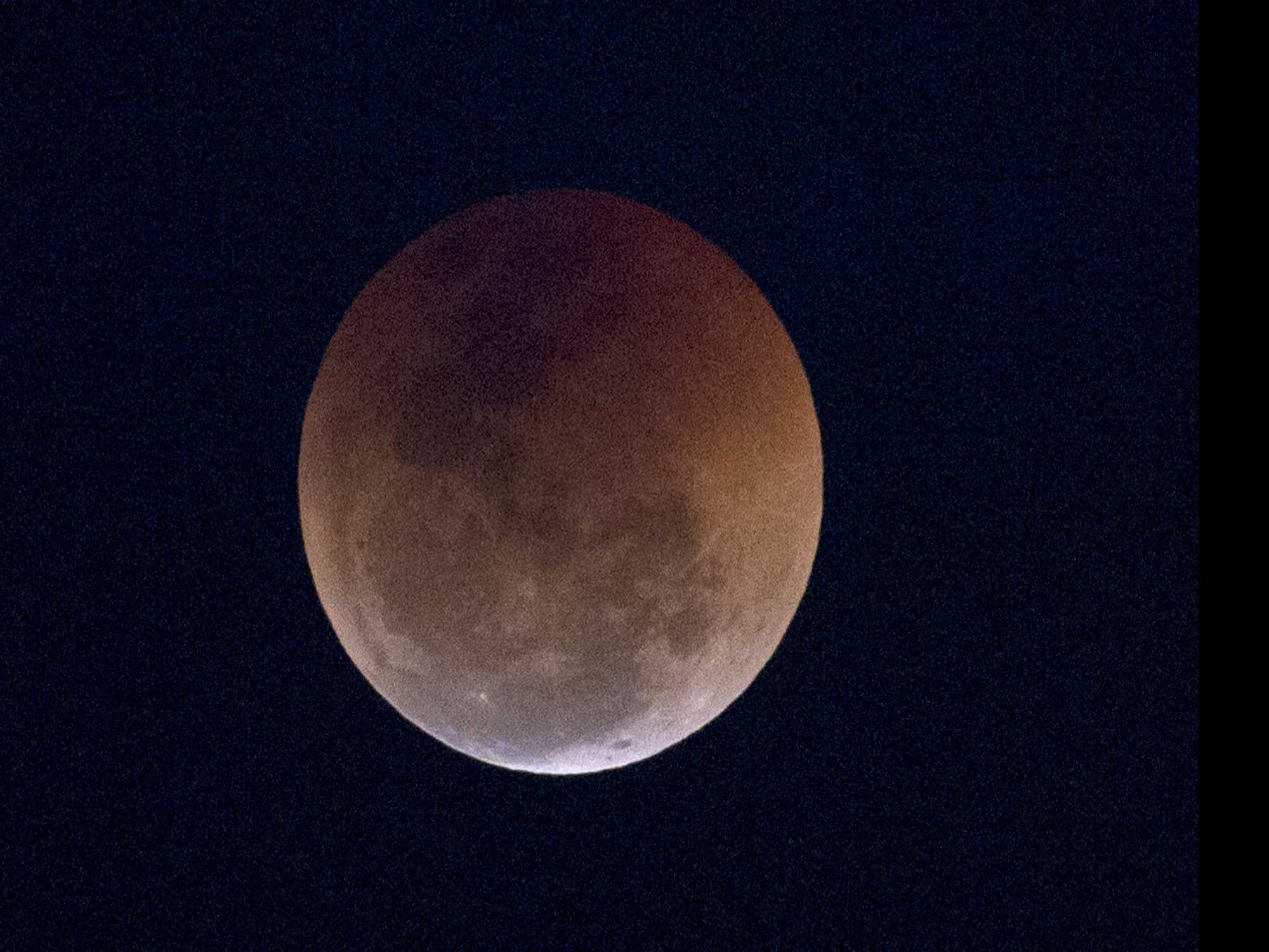 Curtain Rising Sunday Night on Total Lunar Eclipse