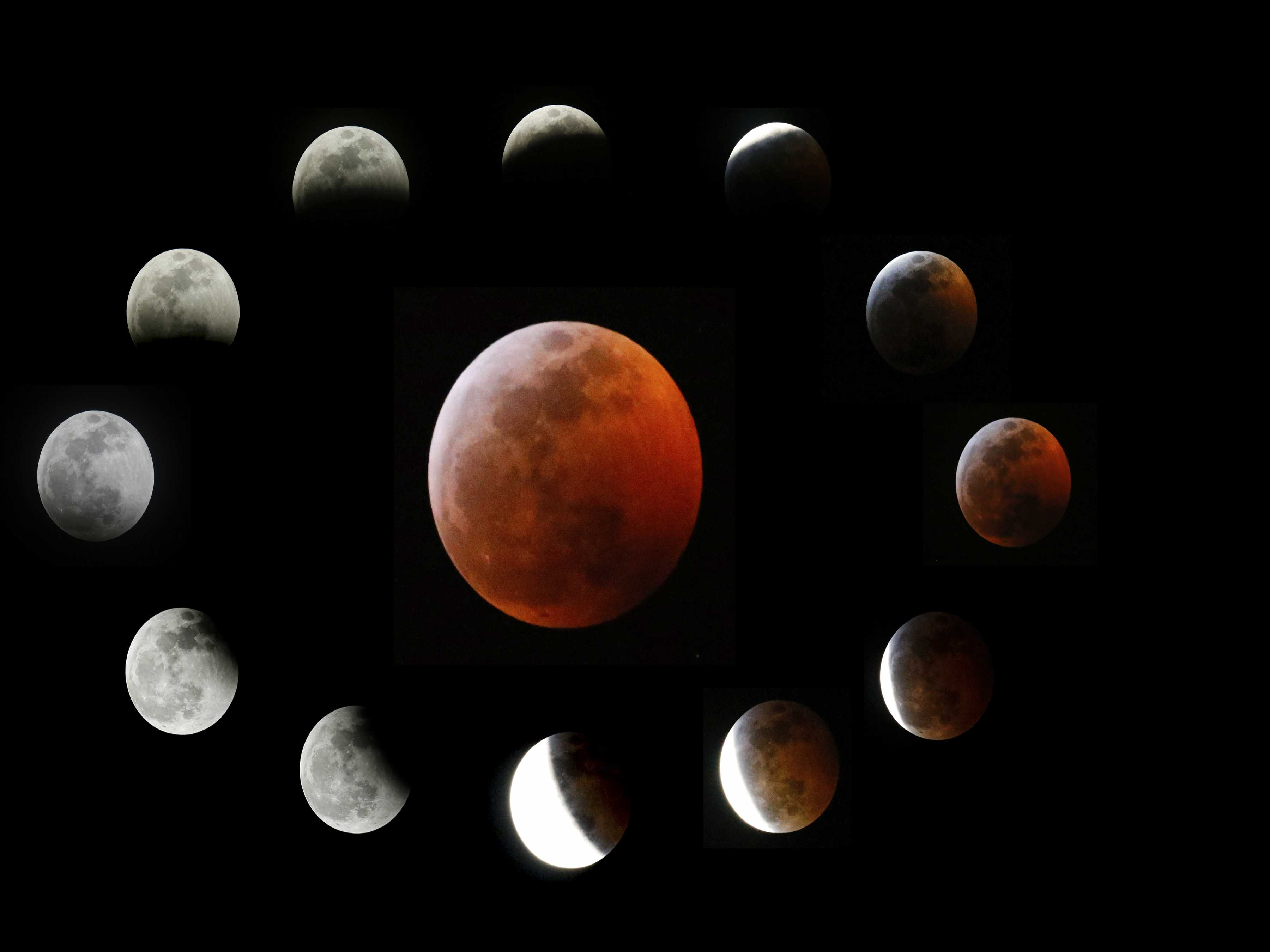 2-for-1: Total Lunar Eclipse Comes with Supermoon Bonus-for-1: Total Lunar Eclipse Comes with Supermoon Bonus