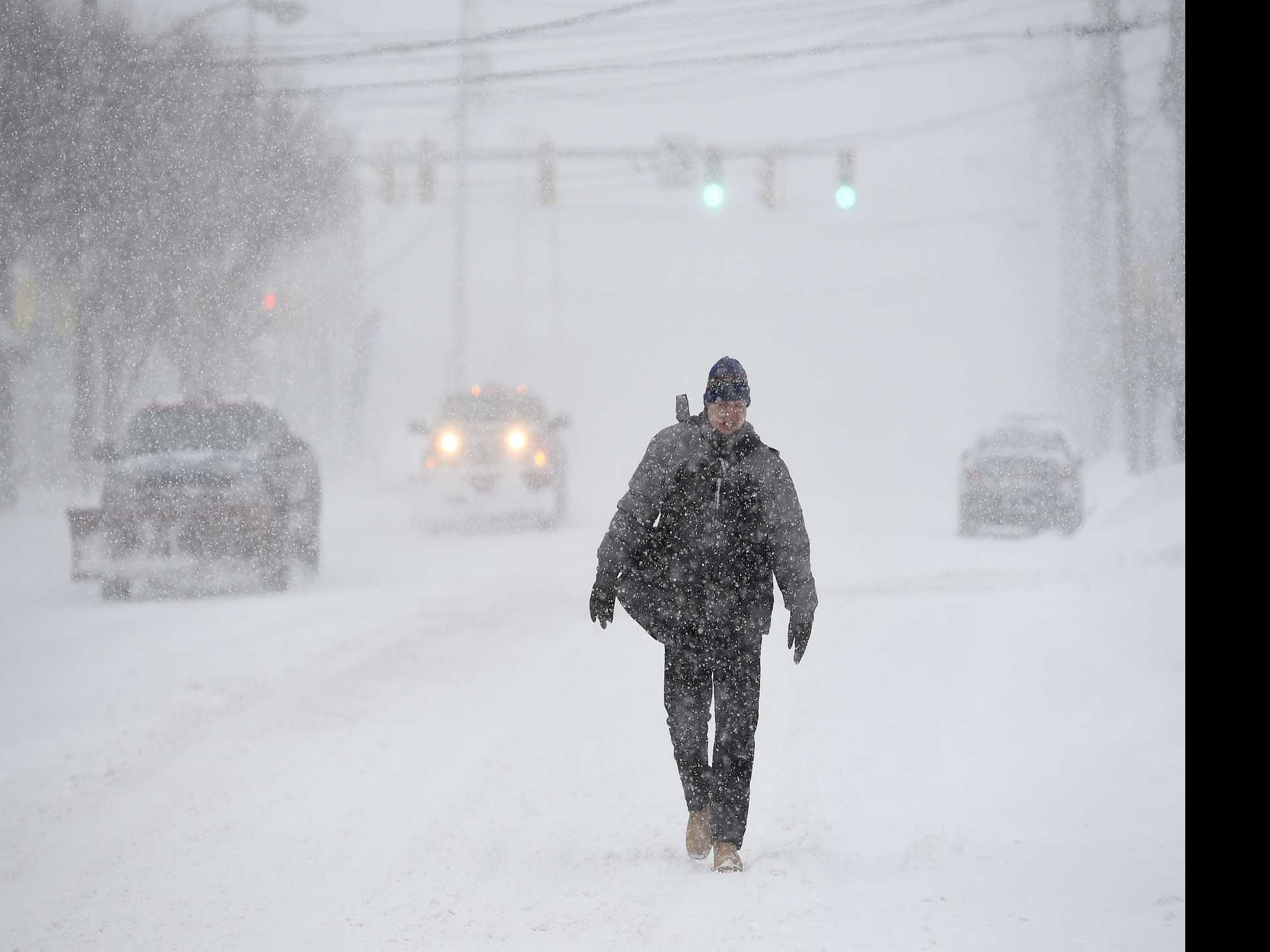 Frigid Air, High Winds Cause Dangerous Travel Conditions