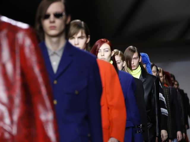 Hedi Slimane Unveils Debut Menswear Show for Celine in Paris
