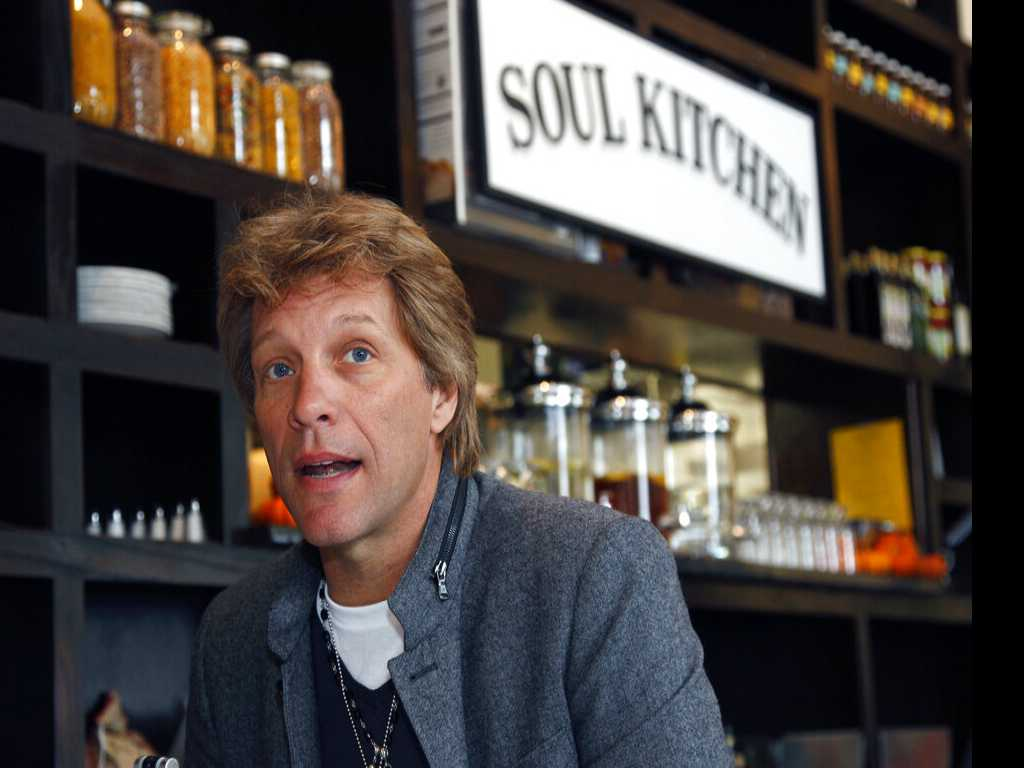 Bon Jovi's Restaurant Gives Free Meals to Furloughed Workers