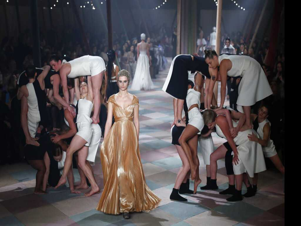 Inside a Big Top: Dior Puts on Circus-Themed Couture