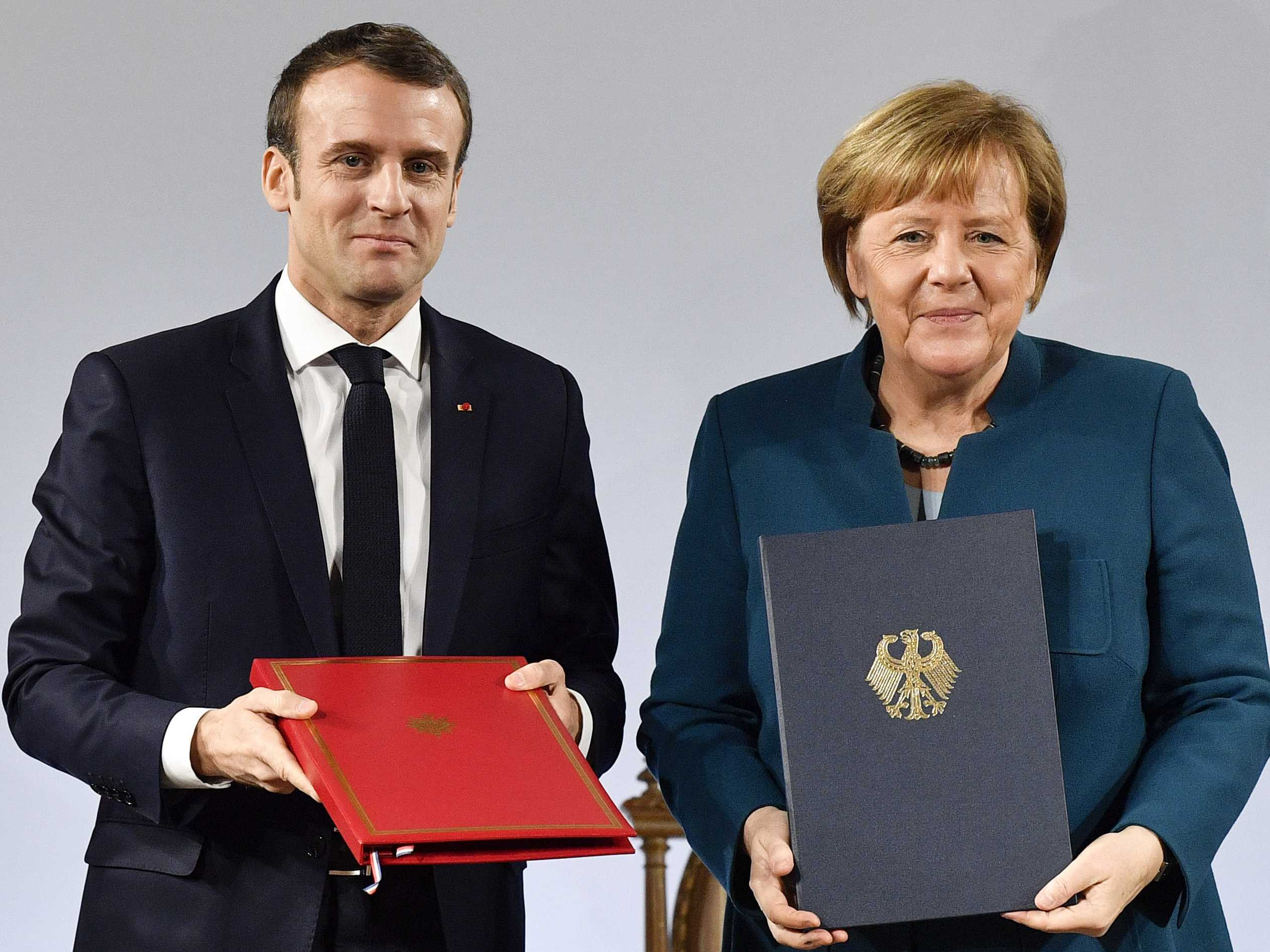 Germany, France Renew Friendship Treaty, Warn of Nationalism