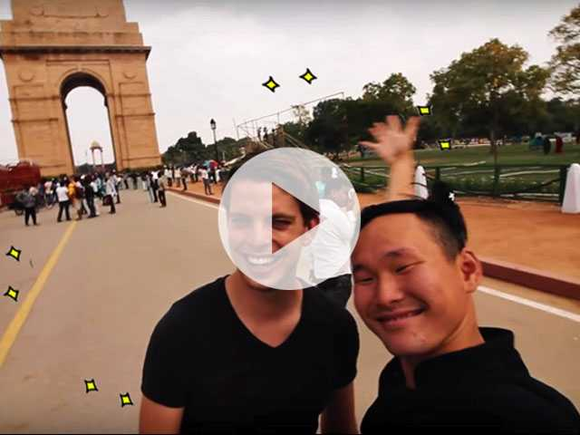 Watch: Gay Boyfriends Travel to India for the First Time