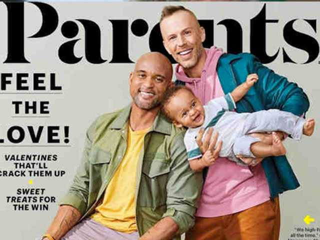 'Parents' Magazine Features Two Dads on Cover; 'One Million Moms' Clutches Pearls