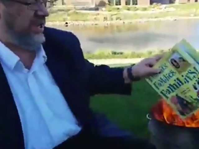 Iowa Religious Activist Pleads Not Guilty to Book Burning
