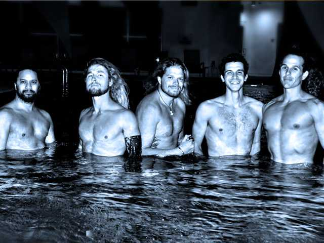 Mermen Arrive at B Ocean Resort's Wreck Bar