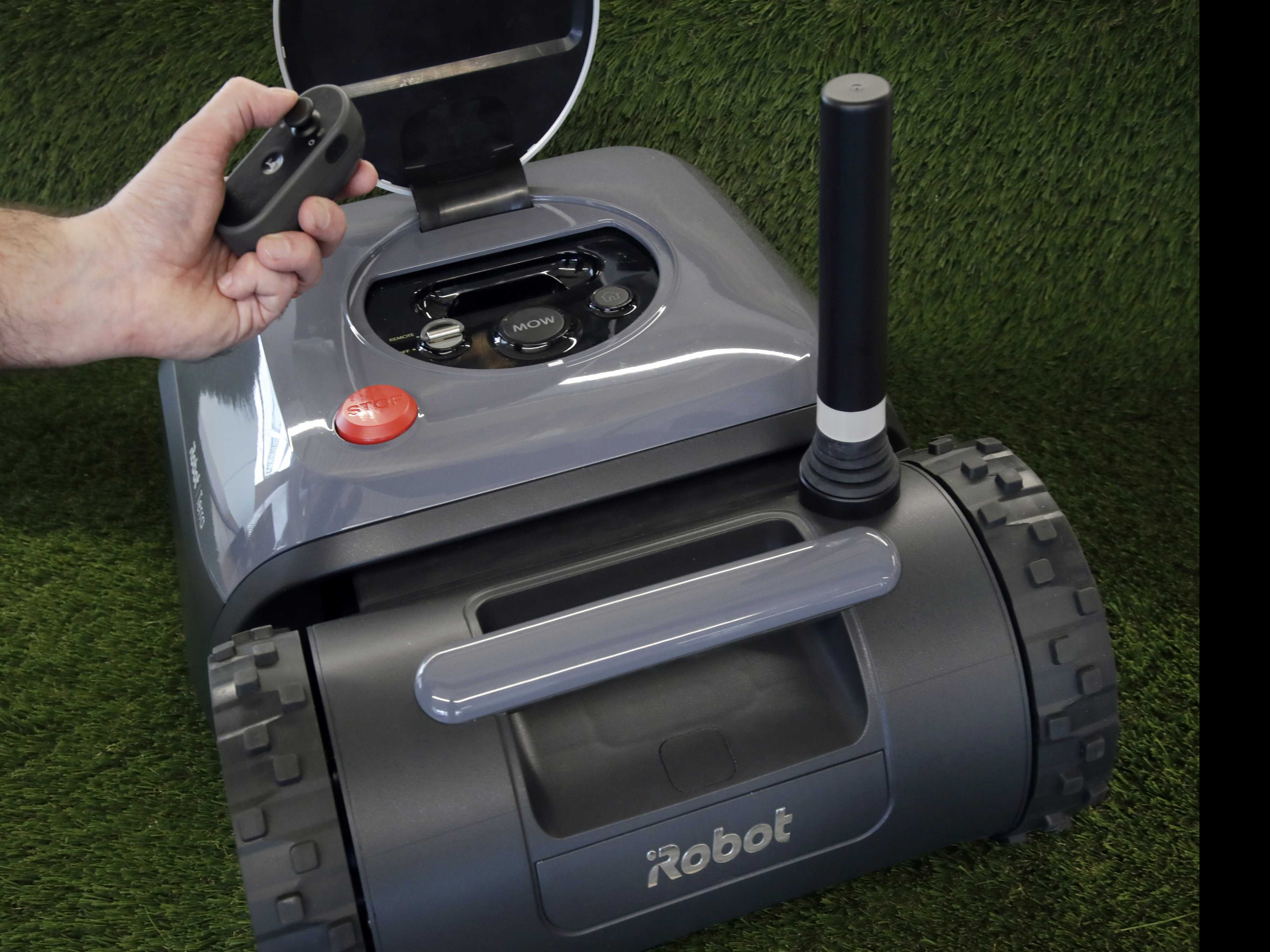 Where's My Robot Lawn Mower? Roomba Maker Now Has An Answer