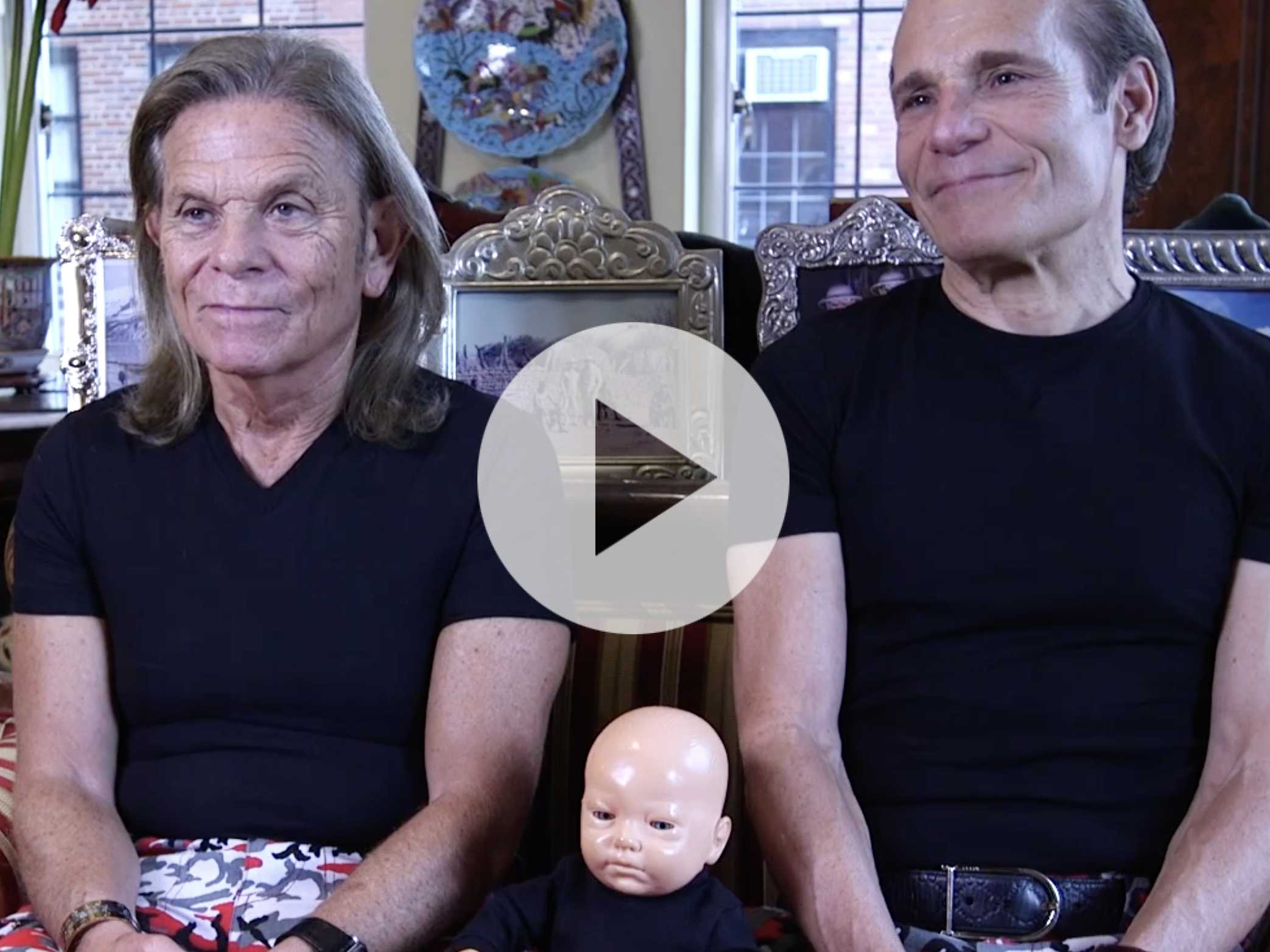 Watch: For Nearly 30 Years, Gay Couple Raises Plastic Doll as Their Own Child