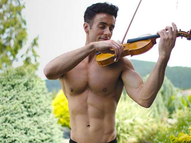 Meet Matthew Olshefski: He Plays the Violin (Shirtless)