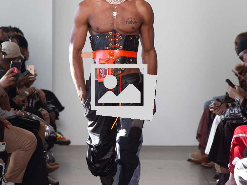 """Trust No Trade"" No Sesso Fall/Winter 2019  Collection designed by Pierre Davis"