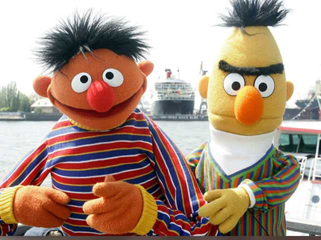 'Sesame Street' Exec Says It's Fine to Think Bert & Ernie are Gay