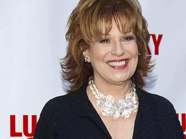 'The View' Host Joy Behar Silent on Old Use of Blackface