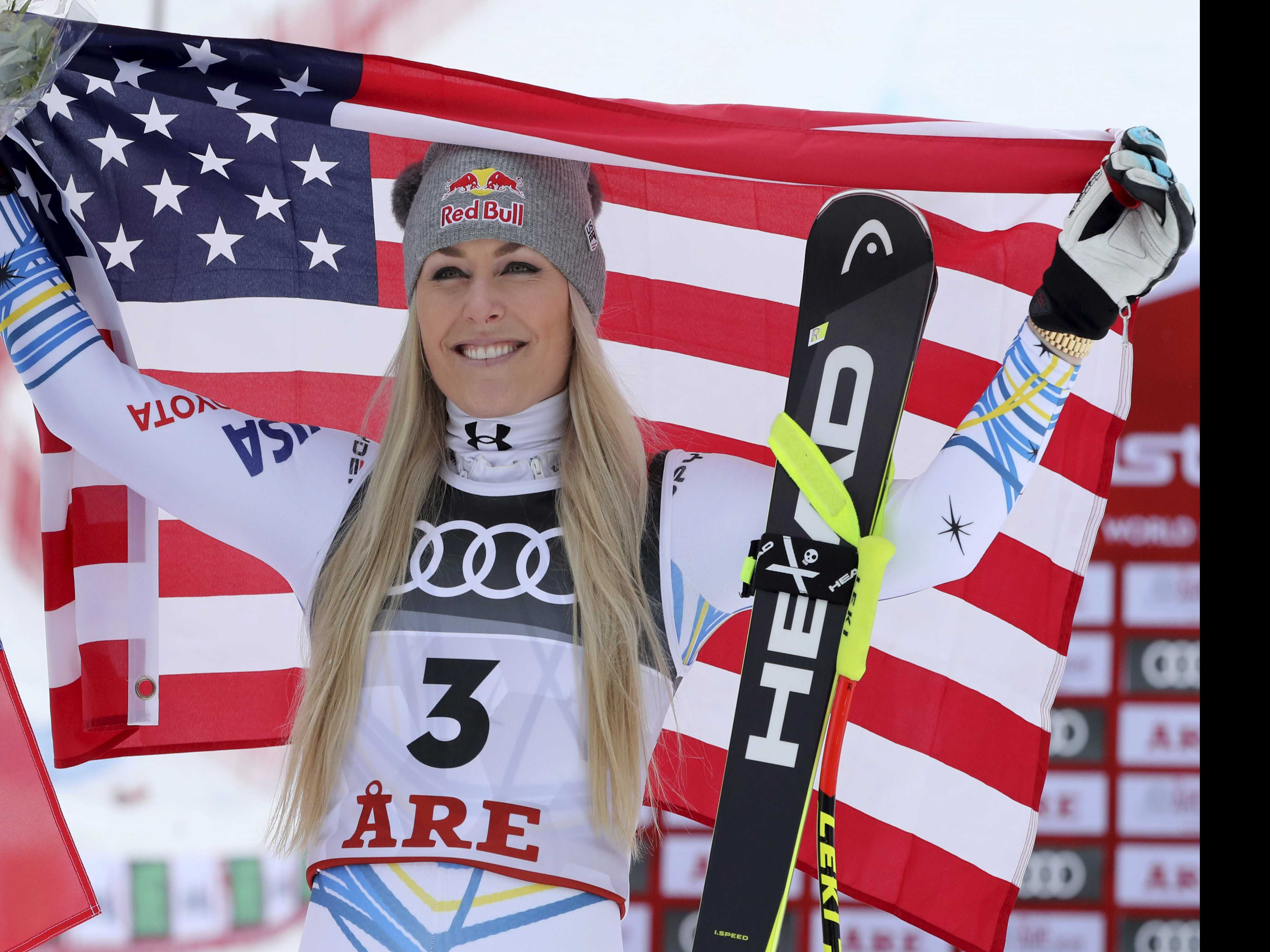 Vonn Wins Bronze Medal In the Final Race of her Career
