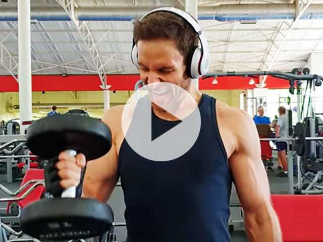 Muscle Monday: Male Model Workout Routine