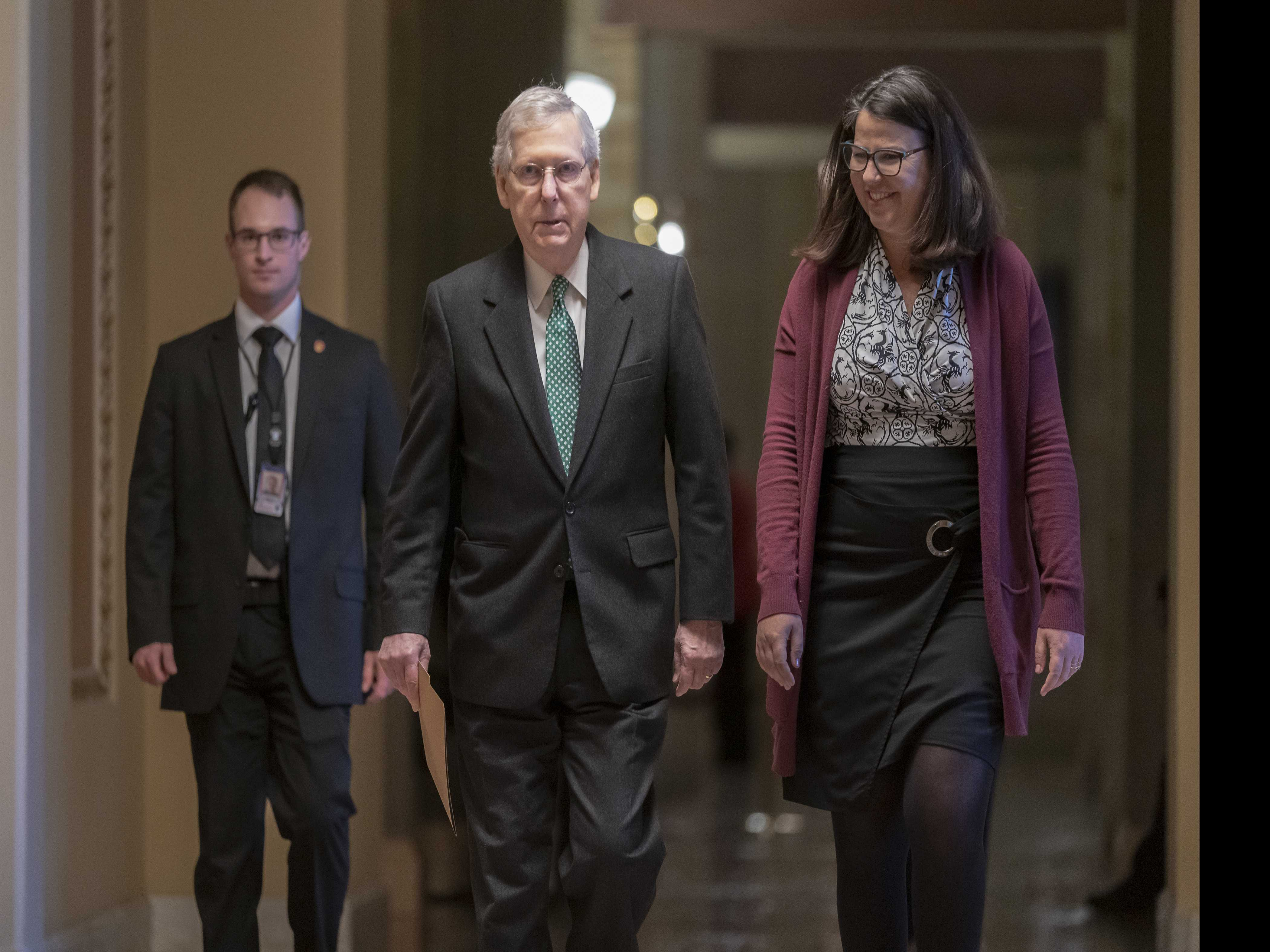 McConnell Wields Green New Deal As Bludgeon Against Dems