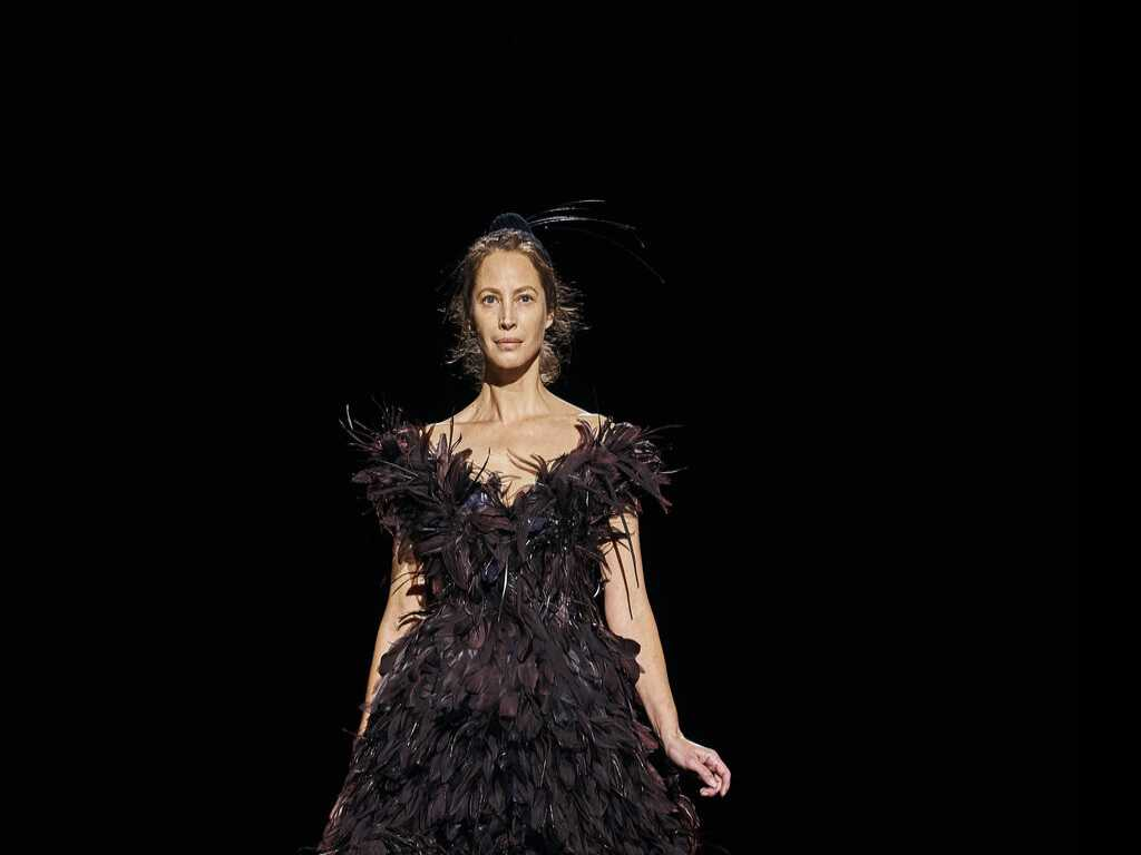 Christy Turlington Walks Runway at NY Fashion Week for Marc Jacobs