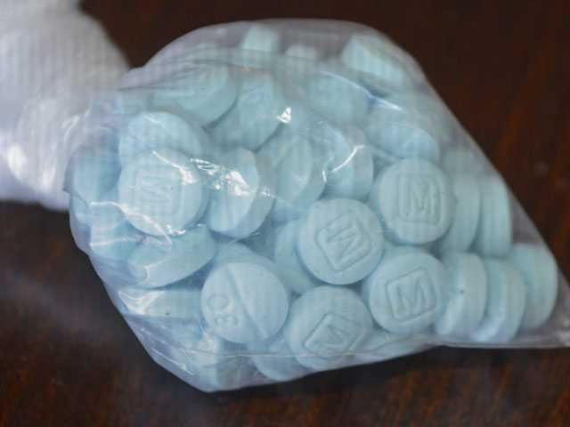 'Mexican Oxy' Pills Hit Arizona Hard