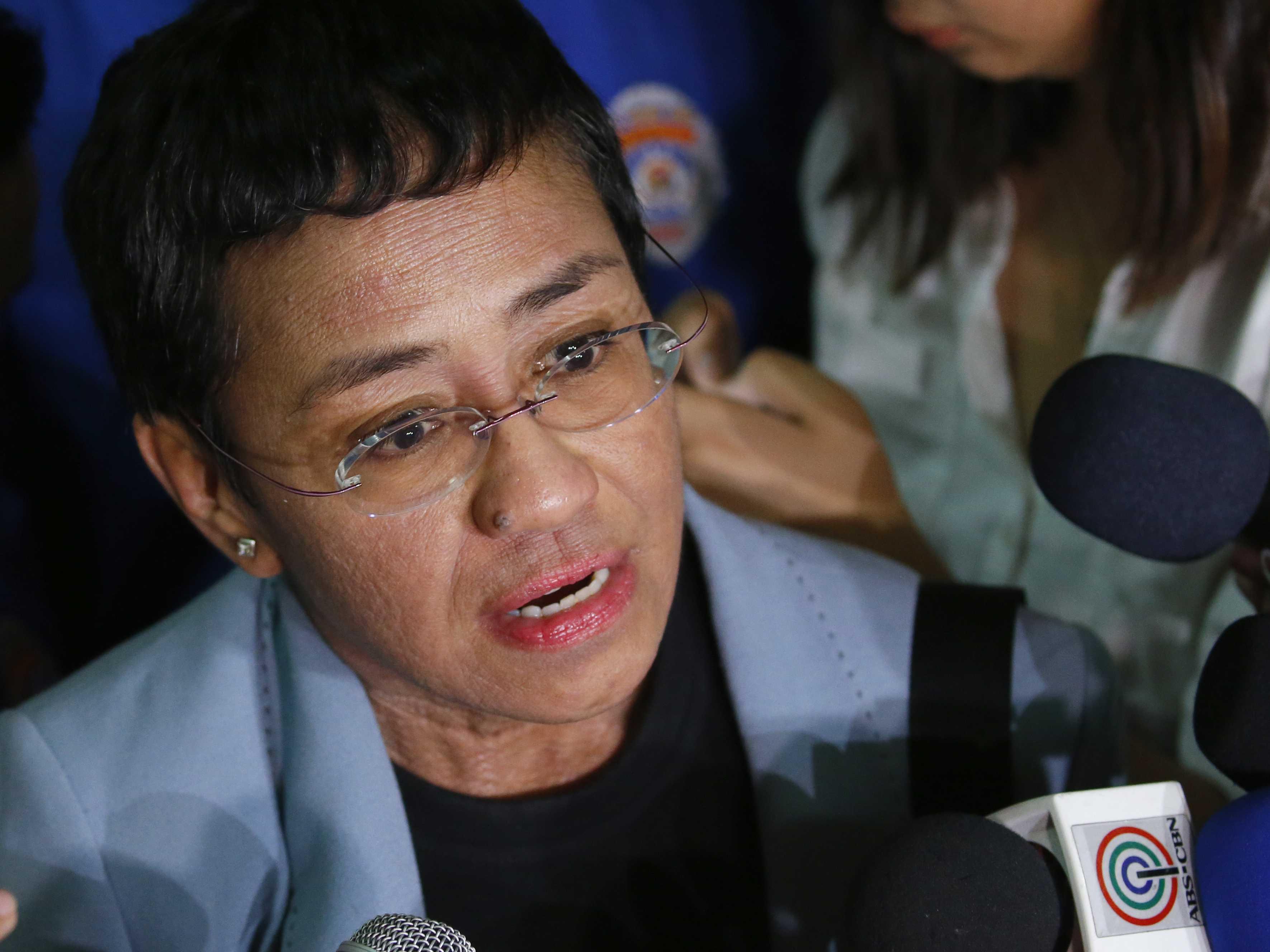 AP Interview: Philippine Journalist Sees Threat to Democracy