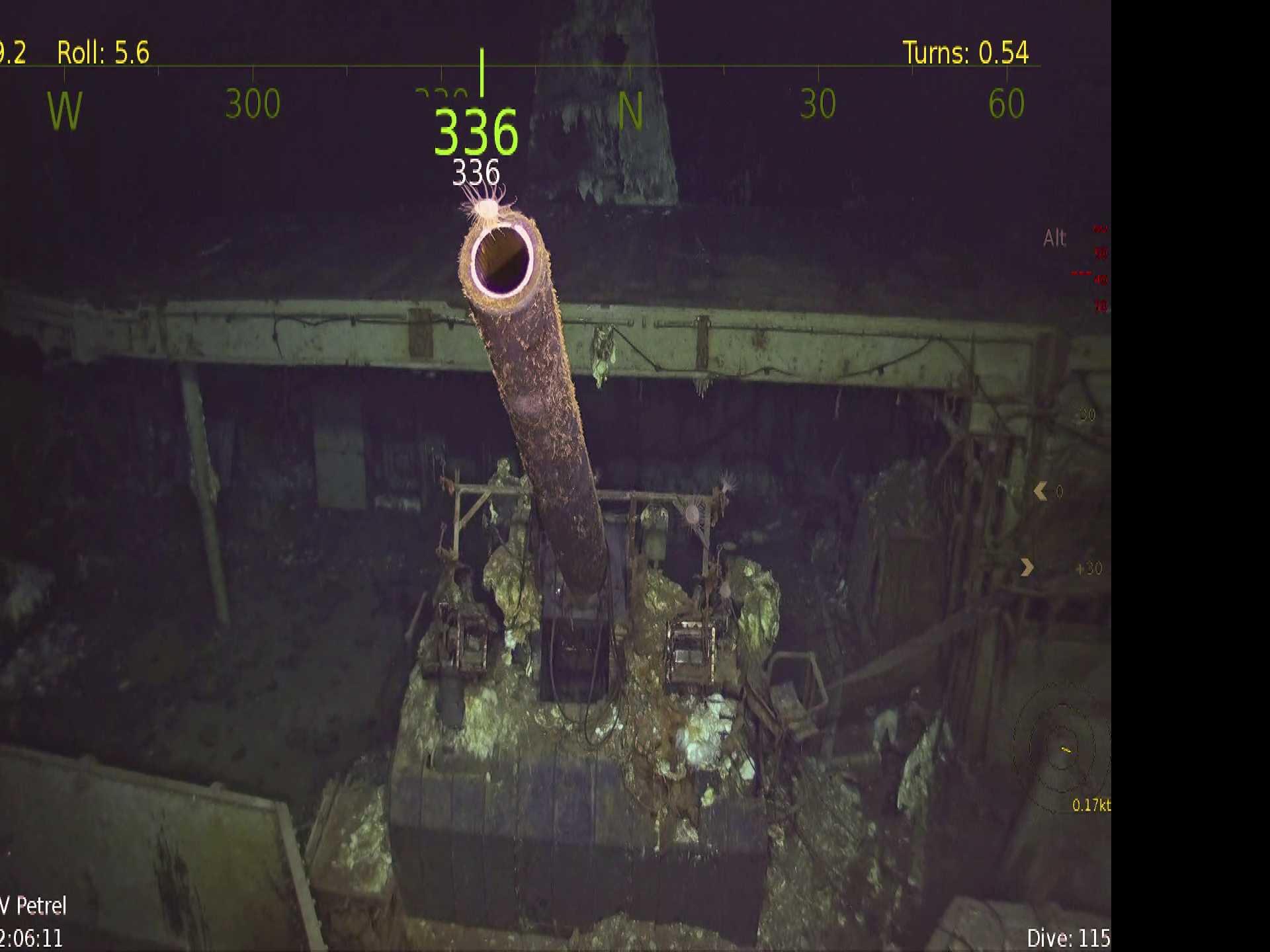 Vessel Discovers Wreck of World War II Carrier Hornet