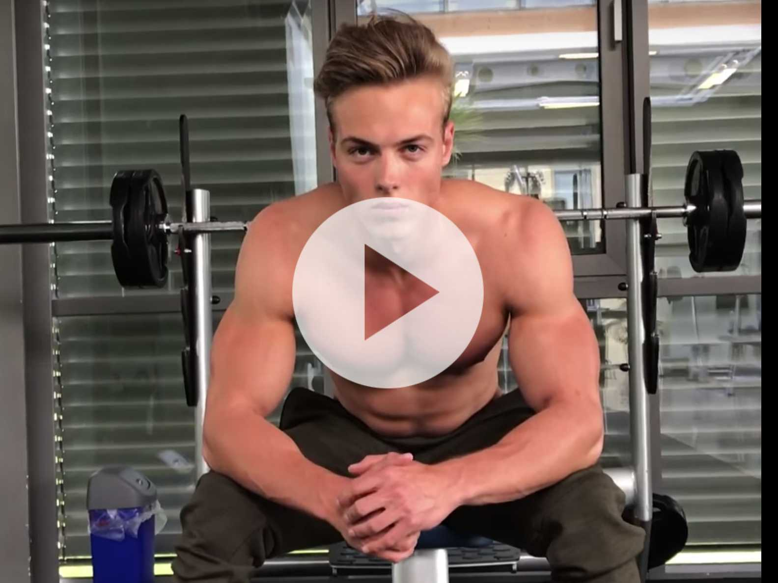 Monday Muscle: Chest Workout with Fitness Model Hagen Richter