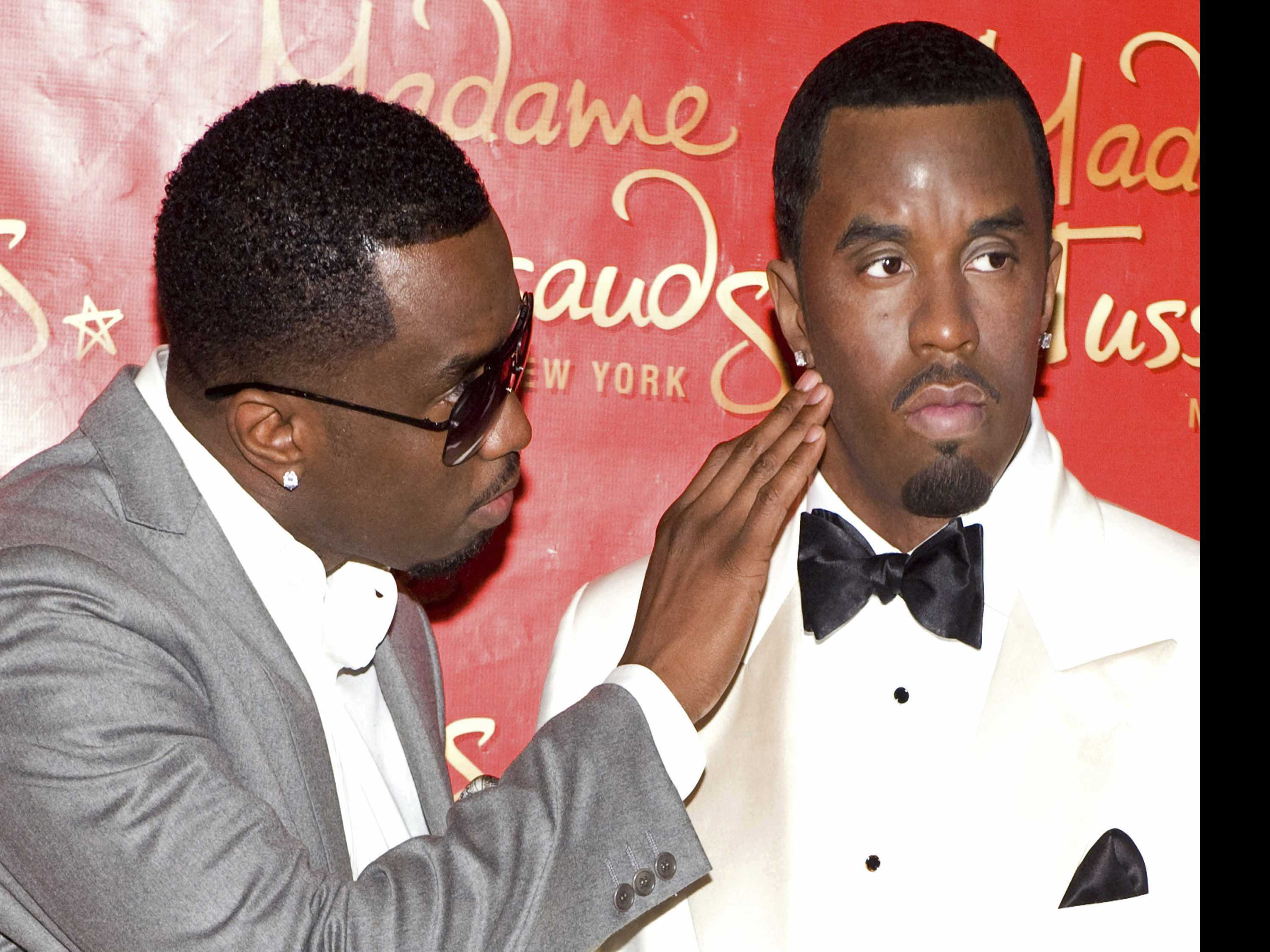 Vandal Topples Wax Statue of Sean 'Diddy' Combs