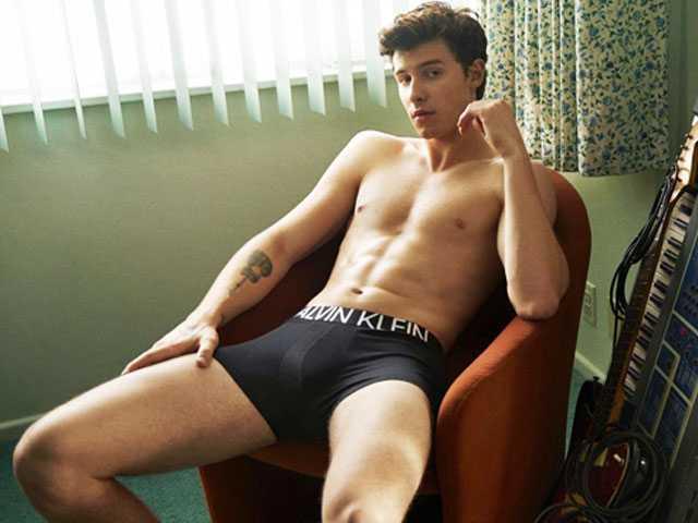 Twitter Reacts to Shawn Mendes' Wild Calvin Klein Photos