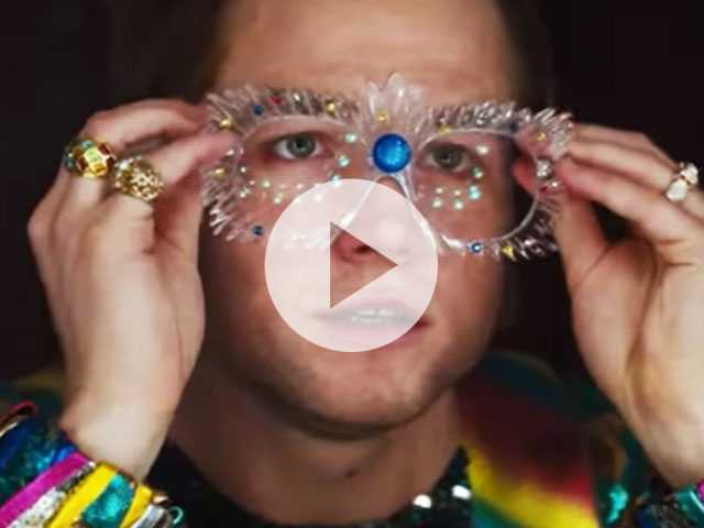 Watch: Taron Egerton Shines in Elton John Biopic 'Rocketman' Sneak Peek