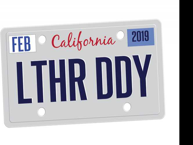 CA DMV rejects leather vanity plate