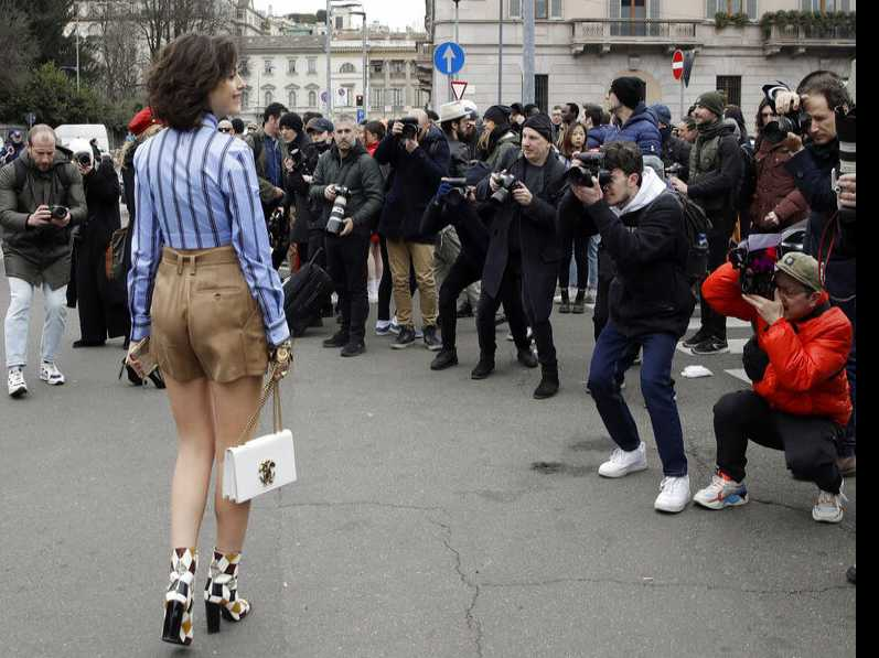 Vibrant Milan Street Fashion Rivals Runway Shows