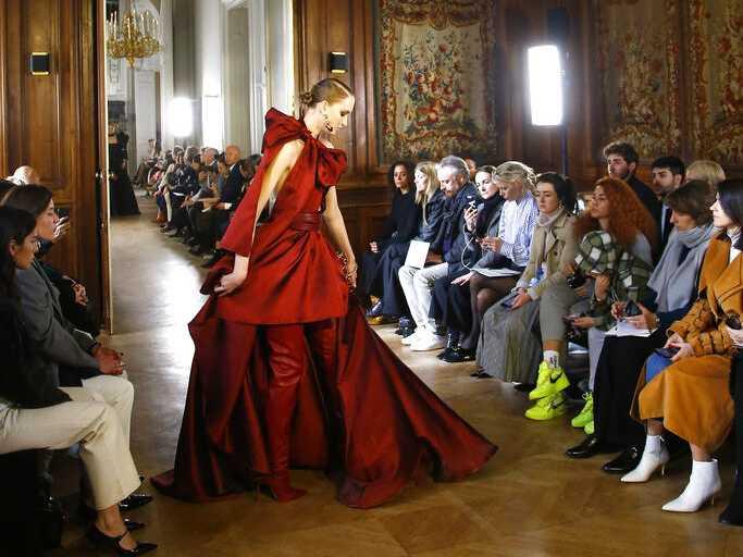 Paris Fashion Week: Elie Saab and Hermes