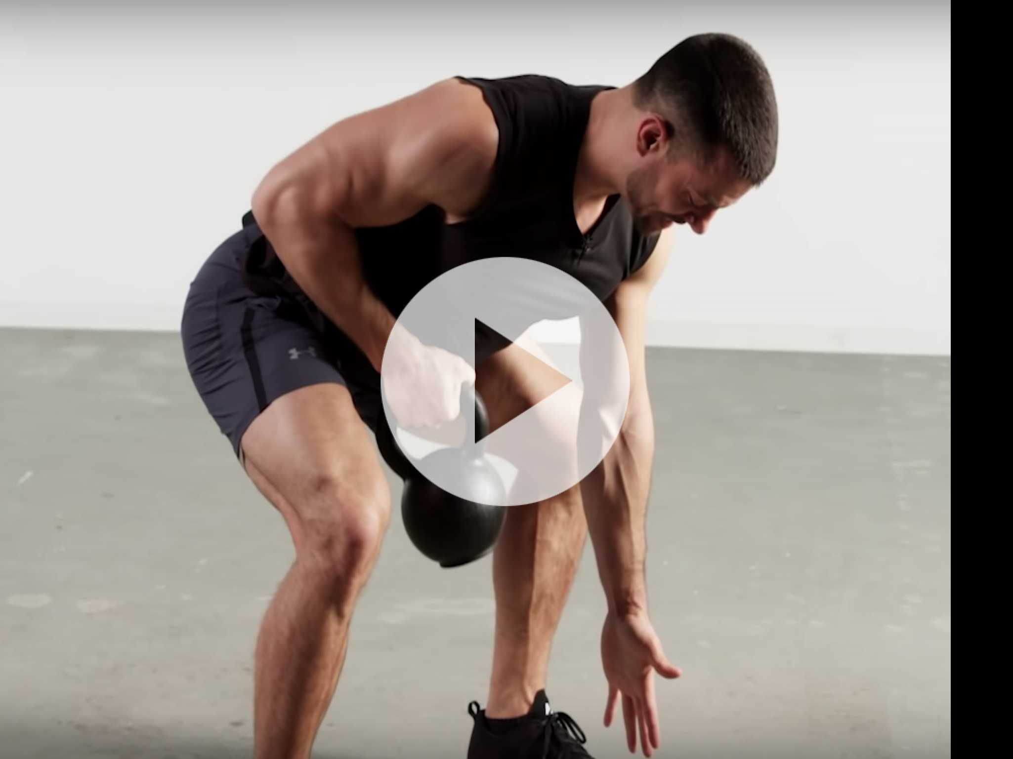 Muscle Monday: 10-Minute Total Body Kettleball Blast