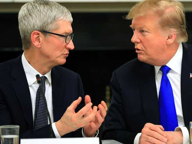 Trump Defends 'Tim Apple' Comment, Says He was Saving Time
