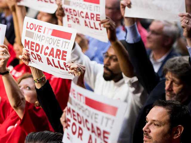 In Dems' 'Medicare for All' Battle Cry, GOP Sees '20 Weapon