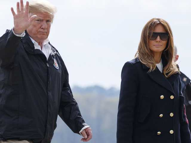 Trump Blasts 'Fake News' Over Melania Body Double Theory
