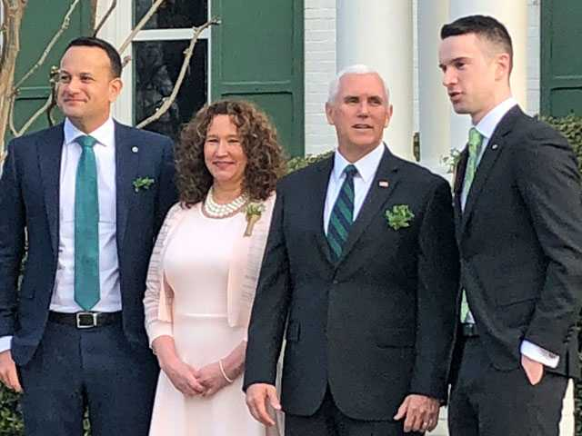 Irish Prime Minister Brings Boyfriend to Meet Pence, Addresses Gay Identity in Remarks