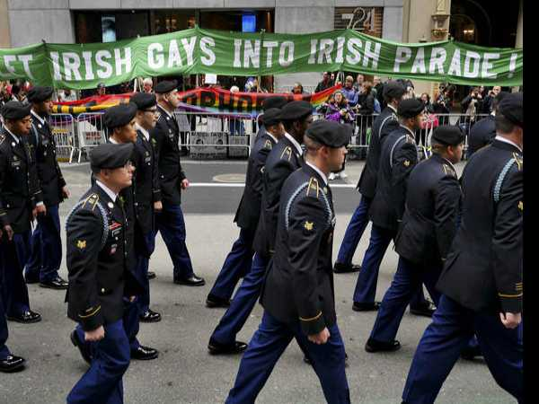 Irish Pride, And Dash Of Politics, At St Patrick's Parade