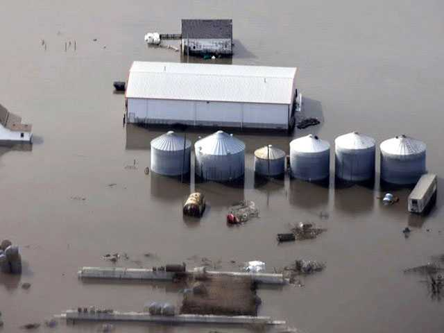 Floodwaters Threaten Millions in Crop and Livestock Losses