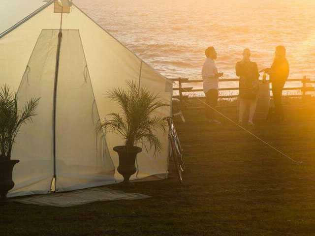 Who Needs a Hamptons Summer House When You Can Go Glamping?