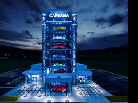 Carvana Debuts Second Pennsylvania Car Vending Machine