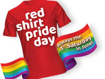 KindRED Pride Foundation Announces RED Shirt Pride Day June 1