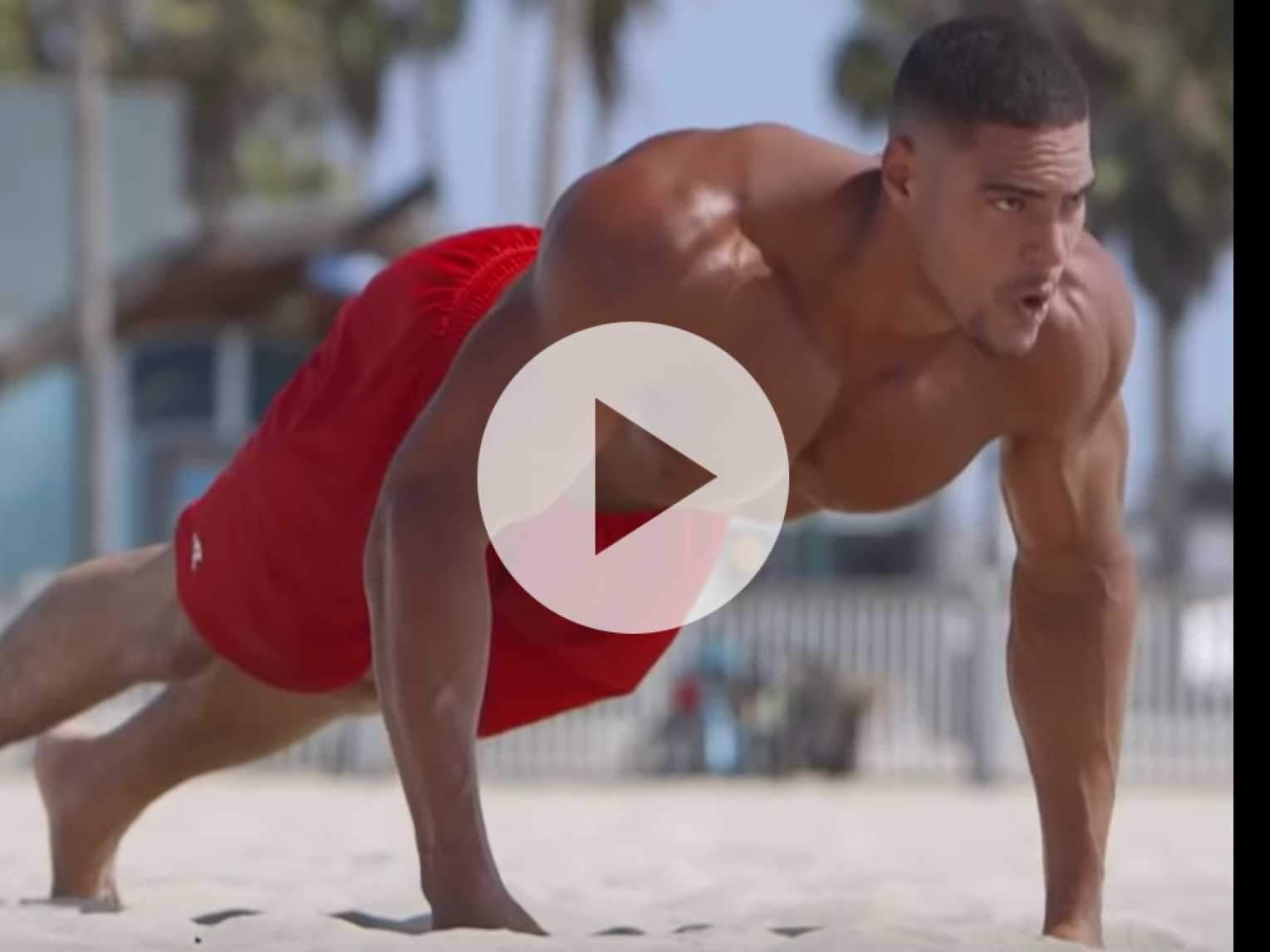 Watch: Muscle Beach Workout with Ike Catcher