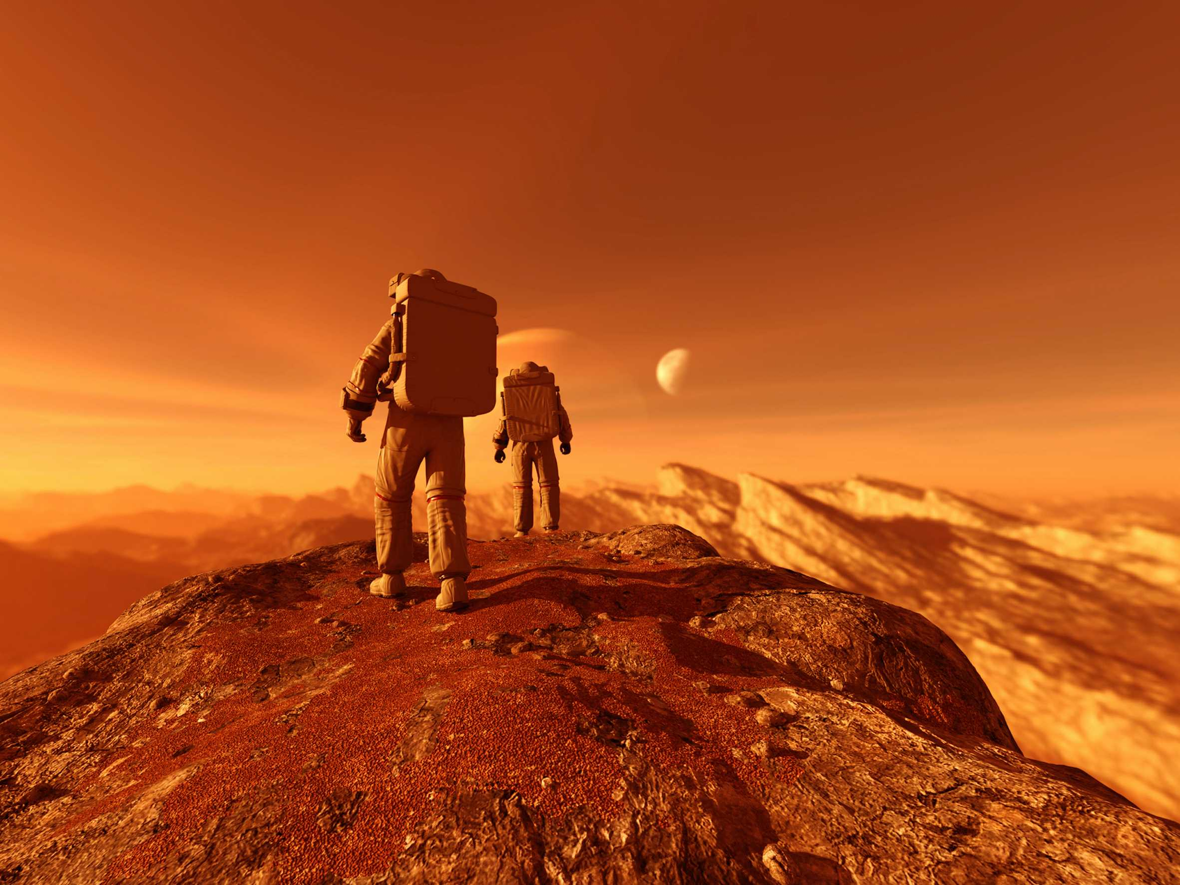 Are Astronauts Worth Tens of Billions of Dollars in Extra Costs to Go to Mars?